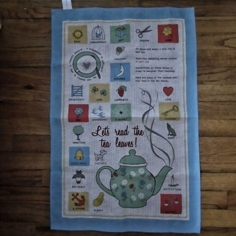 NWT Irish Linen Ulster Weavers Tea Towel Let