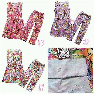 Summer Legging Outfits (Kids Girls Outfits Summer Casual Holiday Shopkins Dress &)