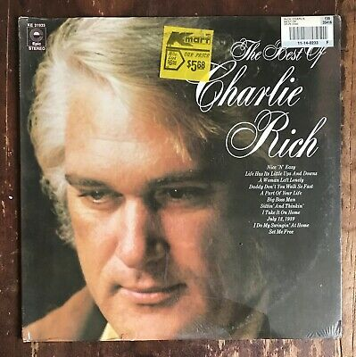 The Best Of CHARLIE RICH Epic LP SEALED Sittin' & Thinkin' + Big Boss Man!