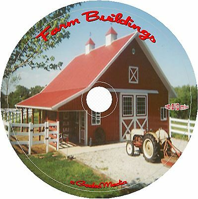 Best Barns Farm Sheds Buildings 95 Professional Architect Plans 42 Books 95 DVD