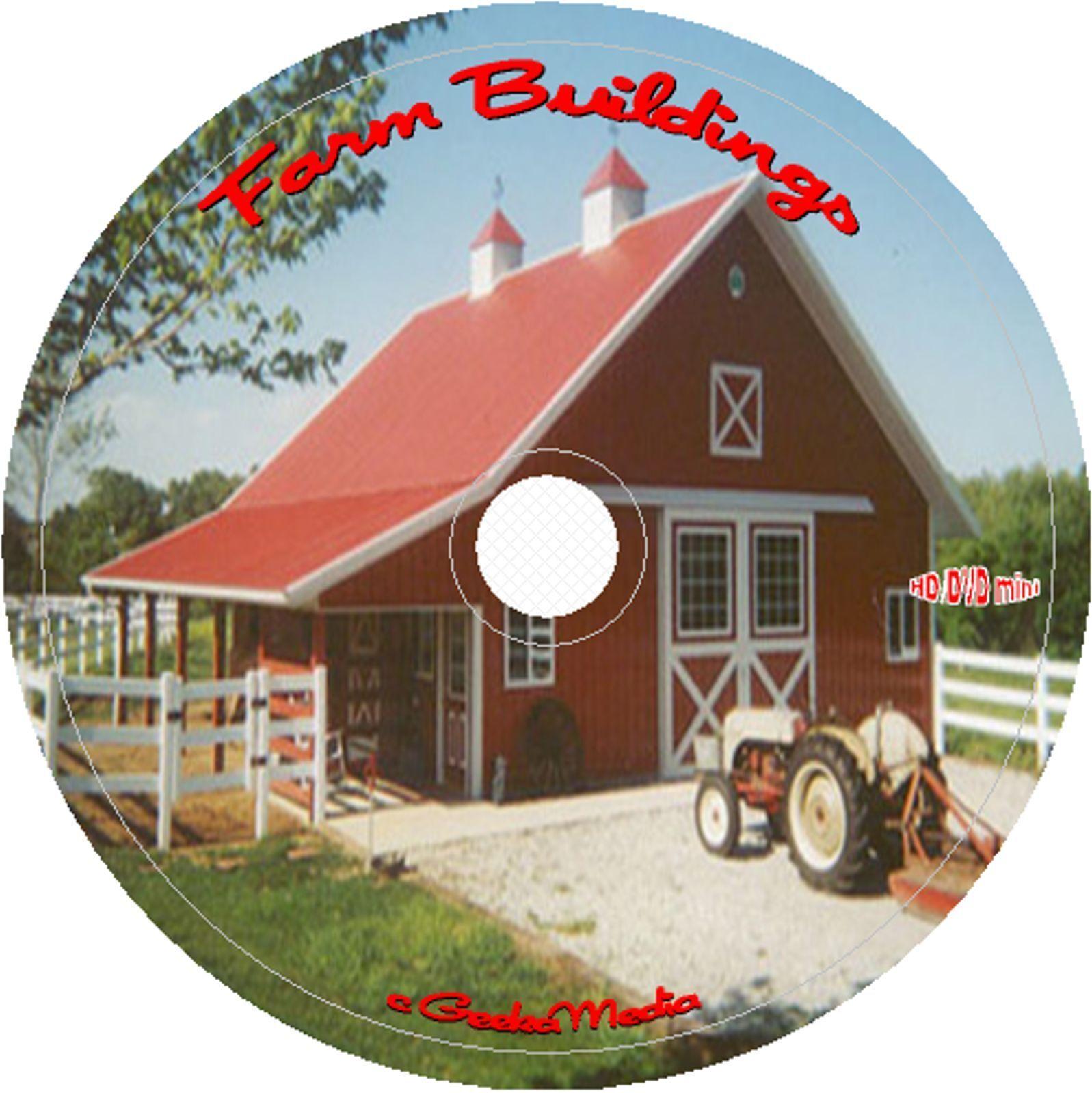 Best Barns Farm Sheds Buildings 95 Professional Architect Plans 42 Books 95 DVD