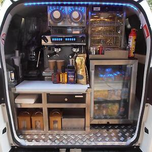 SUZUKI APV 2013 MOBILE COFFEE VAN 38,500 kms - NEW 2017 FITOUT Casula Liverpool Area Preview