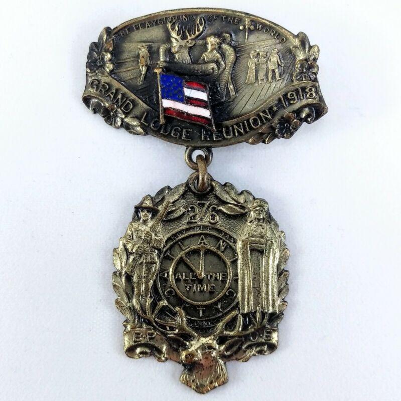 1918 Atlantic City Robbins Co Pin