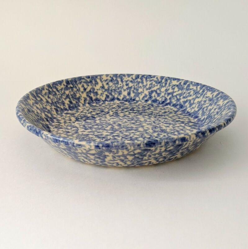 Roseville Spongeware Workshop Gerald Henn Serving Bowl Blue