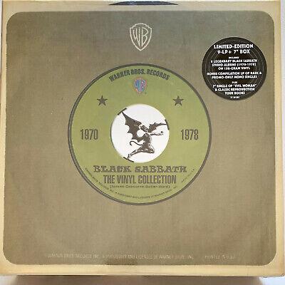 "BLACK SABBATH The Vinyl Collection 1970-1978 9-LP/1-7""+ books Box Set SEALED"