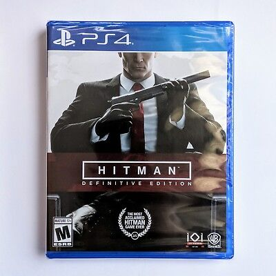 Hitman: Definitive Edition - PlayStation 4 *BRAND NEW*