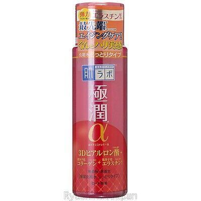 Rohto Hadalabo Gokujyun Alpha Anti-Aging Lotion Moist Collagen & Elastin