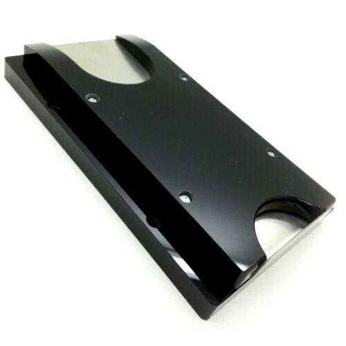 Casino Poker Table Rake Drop Poker Chip Slide for Toke Box - Acrylic & Stainless