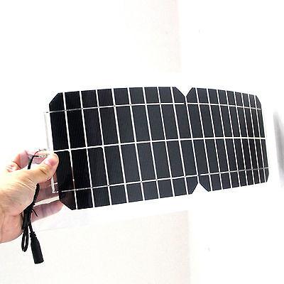 solar 5w 12v Solar Ladegerät Clip&usb  für zuhause Garten auto mp3 Kfz  motor DE