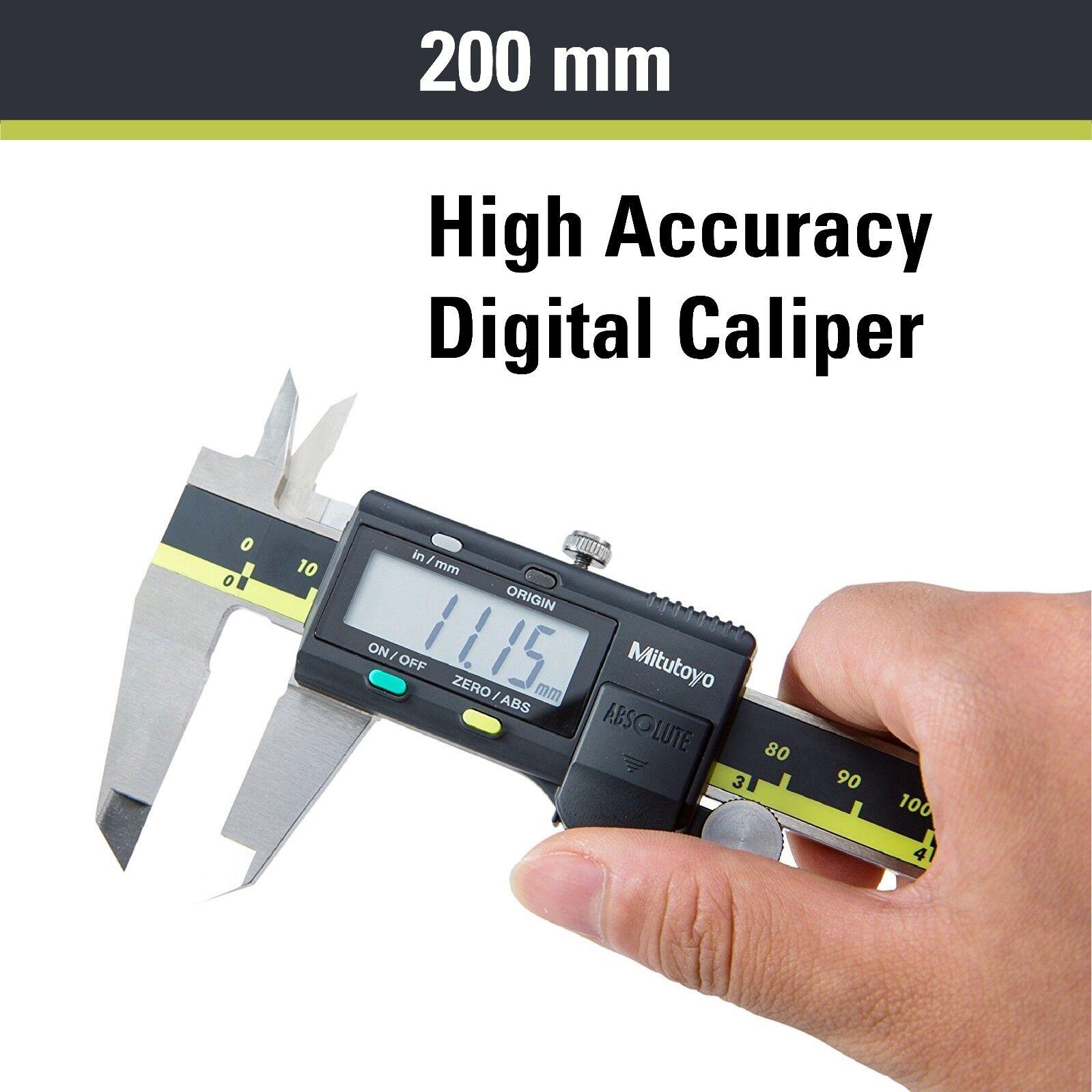 "Japan Mitutoyo 500-197-20//30 200mm//8/"" Absolute Digital Digimatic Vernier Caliper"