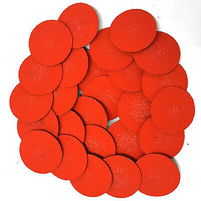 2 Inch Quick Change Roll Onoff 36 Grit Locking Ceramic Abrasive Discs -50 Pack