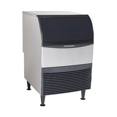 Scotsman Uf424w-1 Flake-style Ice Maker With Bin- Produces 440 Lb. Of Ice A Day