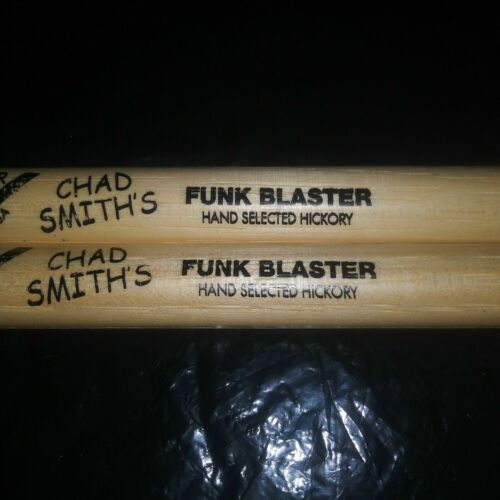 Red Hot Chili Peppers DRUMSTICKS Chad Smith RHCP Concert DRUM STICKS