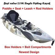 Near Forster best value 9' single fishing kayak from Harrington T Forster Great Lakes Area Preview