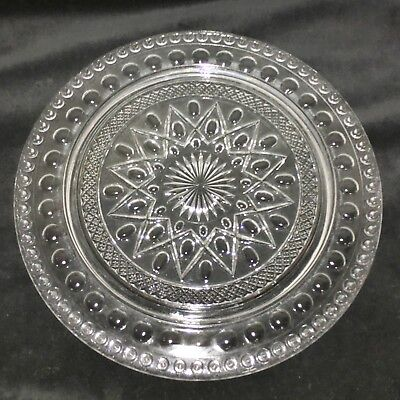 "Imperial CAPE COD CRYSTAL*13"" 72 CANDLE*BIRTHDAY CAKE PLATE *HARD TO FIND*160/72"