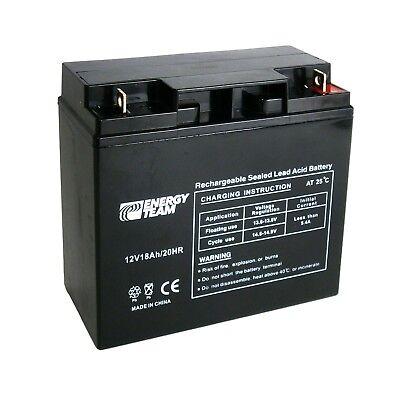 Batteria ermetica al piombo 12V 18Ah EnergyTeam ET12-18 equivale Fiamm FG21803