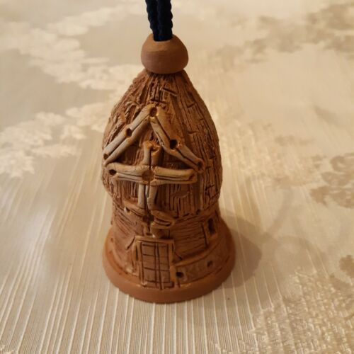Vintage bell Clay? Pottery?