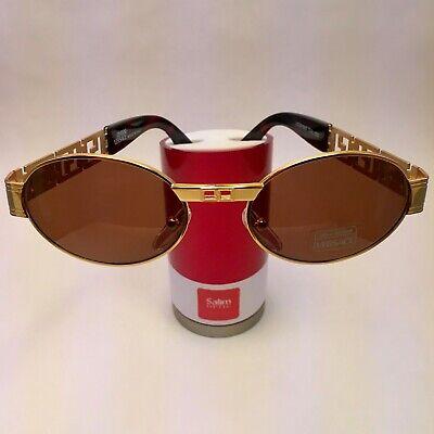 Genuine Rare Vintage 1980's Gianni Versace Medusa Sunglasses ModS43 COL 030 Gold