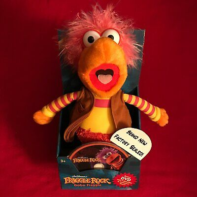 Gobo Fraggle Plush With DVD NEW 2006