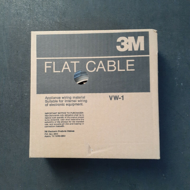 3M Flat Ribbon Cable 44 Conductor 100 Feet