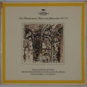 BRUCKNER: Symphony No. 3 JOCHUM DGG Limited 104 808 Germany STEREO NM LP