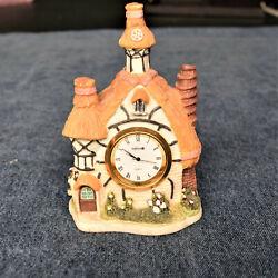Cute Fairy House Salton Quartz Desk / Mantle Clock - Works