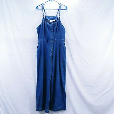 Denim Size 12 Jumper Overalls Blue Woman Styles To Go Capri With Hole Costume