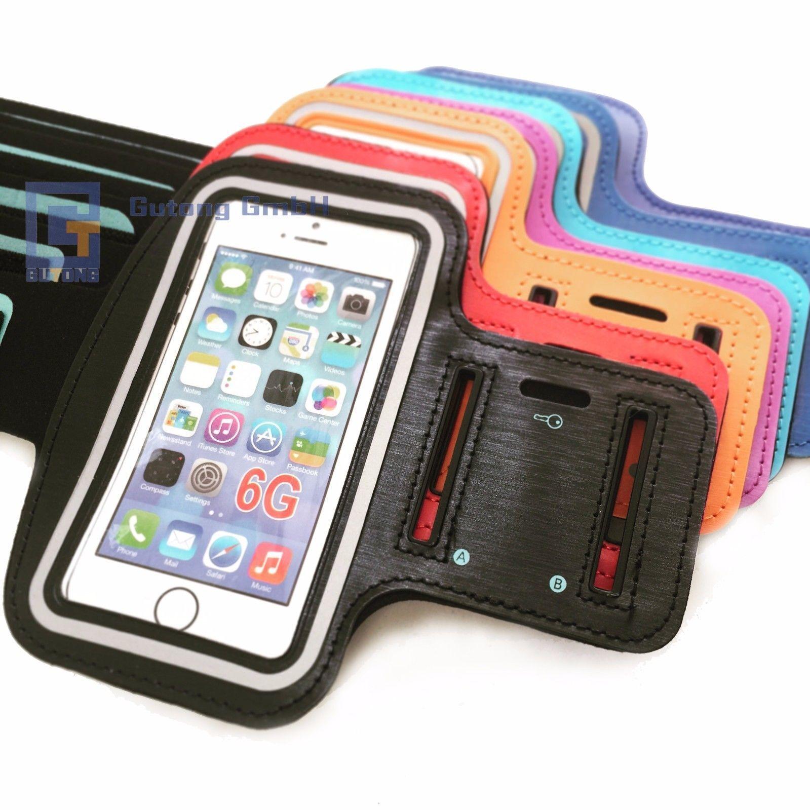 Handy Sport Armband Tasche Halter Hülle Joggen Fitness Schutz für iPhone 6G/S 7G