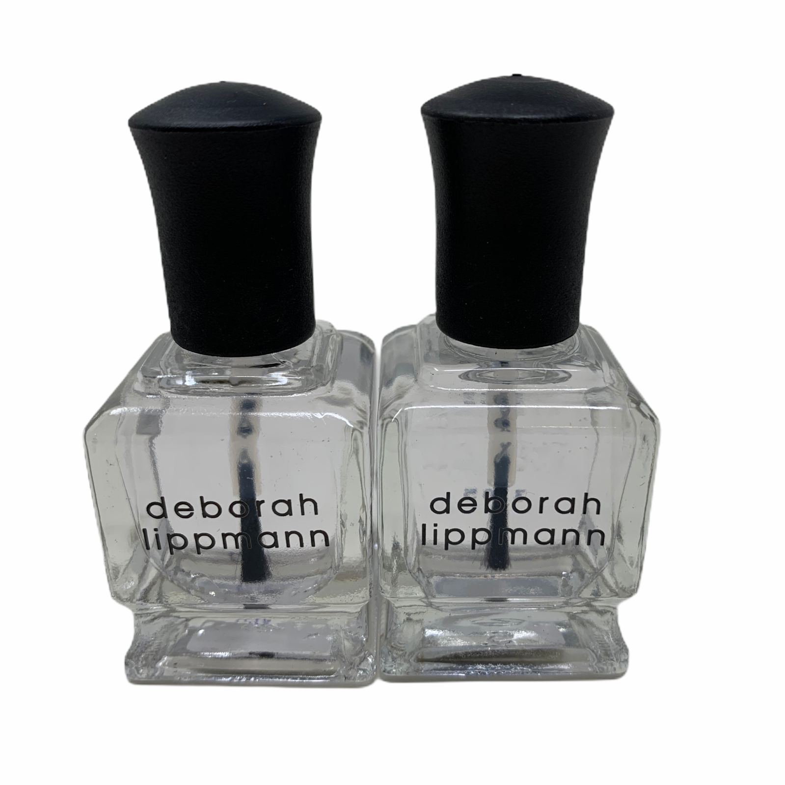 Lot 2 DEBORAH LIPPMANN Nail Polish Treatment Gel Lab Top Coa