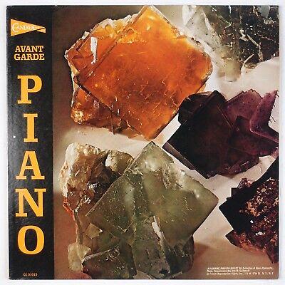 Avant Garde Piano  Berio  Stockhausen  Krenek Candide Burge Lp Nm