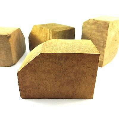 Bruyere Ebauchon Gr. M Briar Block Rohlinge Kantel Pfeife Rohstoff Italien