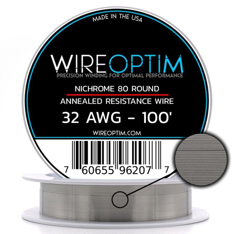 32 Gauge AWG Nichrome 80 Wire 100