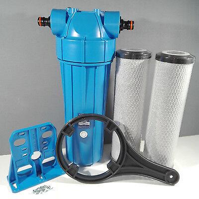 Koi Pond Water Filter For Fish Pond Chlorine Removal Dechlorinator  2 Filters K3