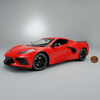 2020-2021 Corvette C8 1:18 Scale Model Torch Red 688078675