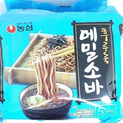 Nong Shim Buckwheat Soba Ramyun 127g 5Pcs Noodle Soup Instant Food Ramen