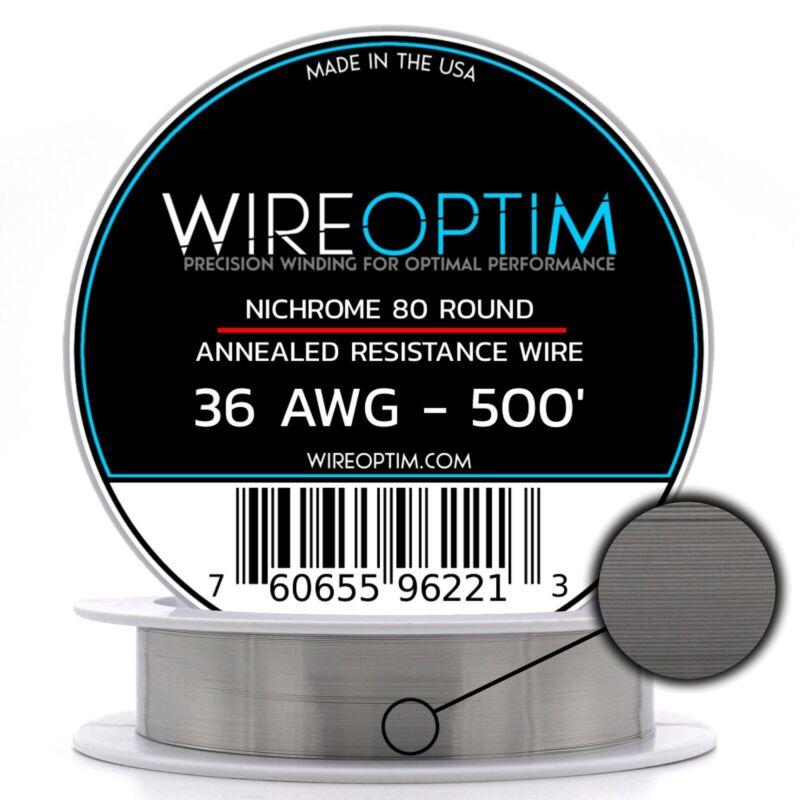 36 Gauge AWG Nichrome 80 Wire 500