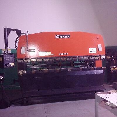 Amada Brake Rg-100 Amada Pega 357 Shear Hydraulic Machine 3 In A Bundle