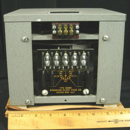 MOTORIZED adjustable transformer.  Large capacity autotransformer (30 amps !!!)
