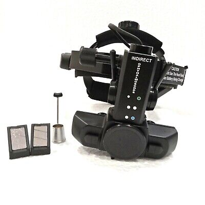 Wireless Rechargeable Led Indirect Ophthalmoscope With Accessories Free Shipping