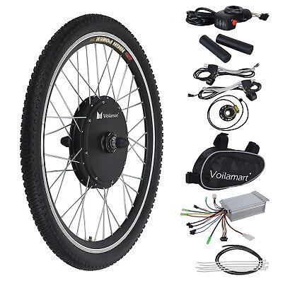 36V500W Bicicleta Eléctrica E-Bike Conversión Motor Juego Rueda Delantera 26