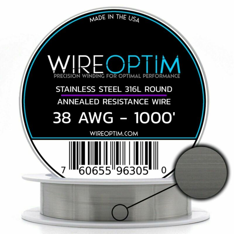 Stainless Steel 316L Wire 22 23 24 25 26 27 28 32 34 36 38 40 AWG 25