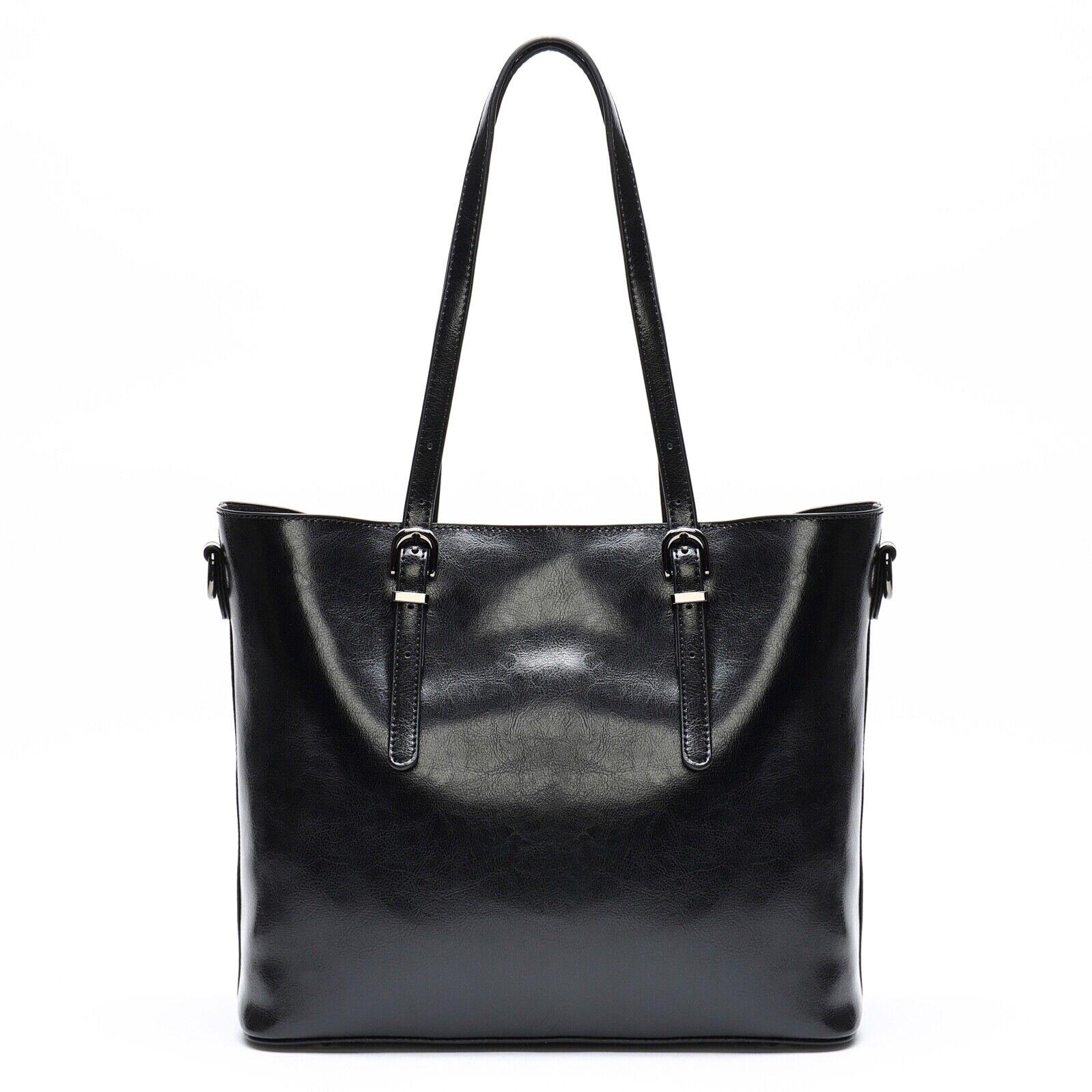 Women's Genuine Leather Shoulder bag Crossbody Tote Handbag
