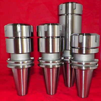 Cat40 Er40 Collet Chucks 4 Pcs Tool Holders 3.15-4-6 Balanced G2.5 20000rpm