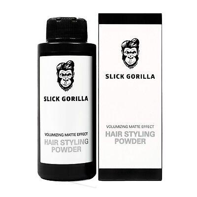 SLICK GORILLA Hair Styling Powder, Volumizing Texturizing Matte Finish, 20 grams