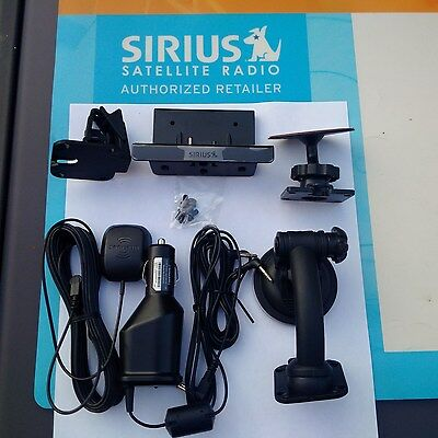 Sirius Sportster 5, Sportster 6 Powerconnect Car Kit SADV2 Compatible with SP5/6