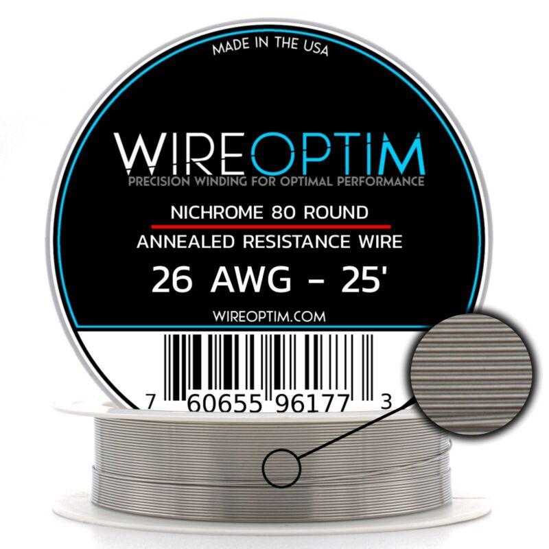 26 Gauge AWG Nichrome 80 Wire 25