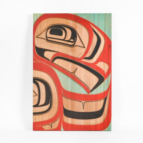 Red Cedar Northwest Native Eagle Wall Panel