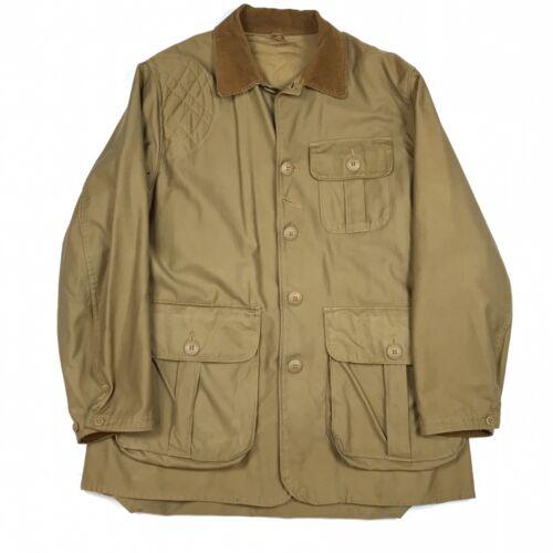 Vintage 1950s J C Higgins Sears Roebuck Beige Hunting Jacket Coat Men's XL-XXL?