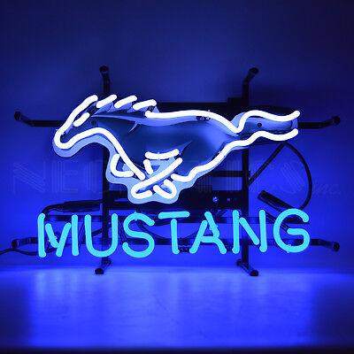 Ford Mustang GT Neon Sign - Silkscreen - Muscle Car - Pony - Dealership - Garage
