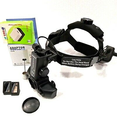 New Indirect Ophthalmoscope With Accessories Carry Bag Free Shipping